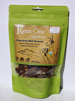 Chocolate Nut Krunch Quinoa made in Colorado by Keen One