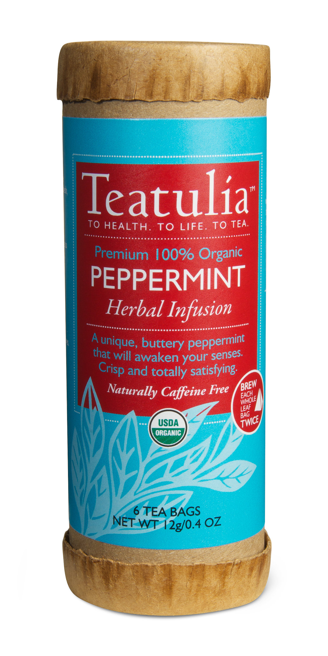 Peppermint Herbal Infusion, By Teatulia