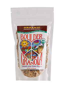 Boulder Granola Gluten-Free and Organic Granola made in Colorado