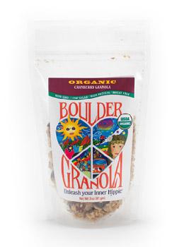 Organic Granola made in Colorado by Boulder Granola