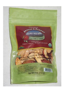 Organic Dried Apples from Ela Family Farms in Hotchkiss, CO